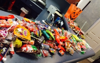 Newnan Dentistry Halloween candy buy back
