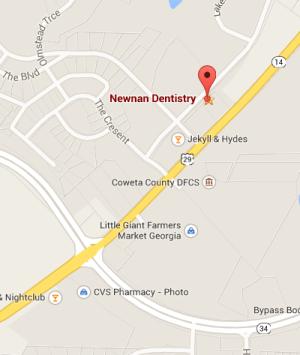 newnan dentistry location